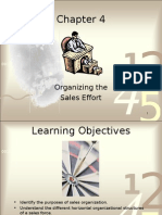 Chapter 4 Sales Force Management