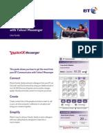 BT Communicator With Yahoo Messenger. BtcUserGuide_v9_161204