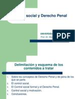 Control Social y Derecho Penal
