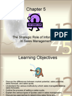 Chapter 5 Sales Force Management