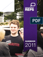 LUSU Department Rep Handbook 2011