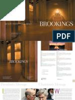 Brookings Institute brochure