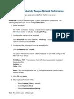 Wireshark to Analyze Network Performance