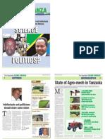 Kilimo Kwanza - The Guardian - 22nd Febuary 2010