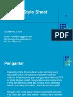 Materi 3 - CSS