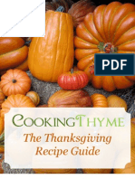 Thanksgiving Recipe Guide