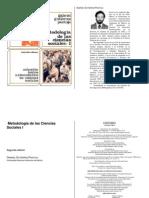 Gutierrez Pantoja, Gabriel Metodologia de Las Ciencias Sociales I
