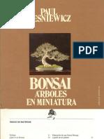 Bonsai, Arboles en Miniatura Español