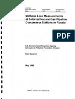 Estudio de La EPA Con Gazprom 1996