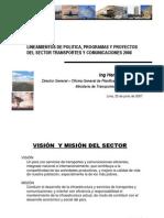 MTC - Lineamientos Programas y Proyectos 2008