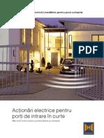 Porti Electrice Automate