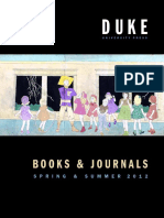 Duke University Press Spring 2012 catalog