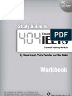 404 Study Guide Workbook - General English)