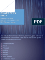 10 PALABRAS CLAVES DE LA ÉTICA