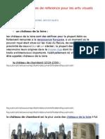 Liste Des Œuvres de Reference Pour Les Arts Visuels - 1