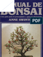 Libro Manual de Bonsai -Anne Swinton