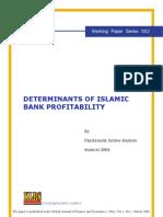 Determinants of Islamic Bank Profitability Pro 3