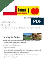 Food Revolt - Speise Lokal - Austrian Agriculture