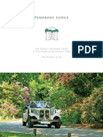 Pembroke Lodge the Russell Suite Brochure