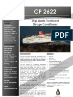 CP 2622 Product Brochure - Ship Sludge Treatment Chemical