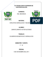Clasificación De Los Cilindros Hidráulicos Y Neumáticos