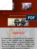 Brigada de cia (Evacuacion y Desalojo)