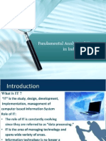 Fundamental Analysis of IT Sector