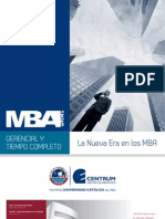 Brochure Mba Gerencial