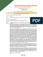Carta Al Jurado Nacional de Elecciones