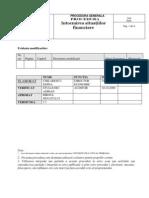 Procedura Intocmire Situatii re Timisoara 2010