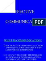 Effective Communication 2