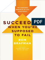 Succeeding When You'Re Supposed to Fail by Rom Brafman - Excerpt