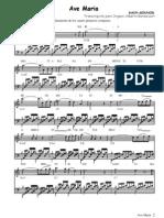 AVEMARIA Bach Gounod Organo