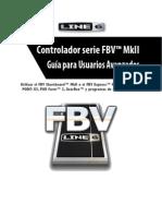 FBV MkII Series Controller Advanced User Guide (Rev B) - Spanish