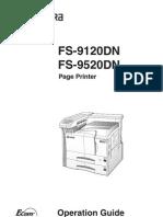 Kyocera FS9520DN En