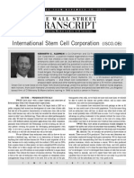 International Stem Cell - TWST