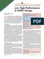 A Low-Cost, High Performance Lab HVAC Design