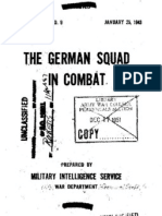 The German Squad in Combat, Special Series No.9