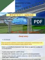 MOSTOVI I - Vjezbe Br.6