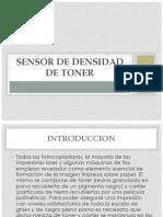 Sensor de Densidad de Toner