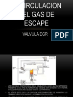 Recirculacion Del Gas de Escape