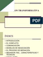 Mediacion modelo transformativo