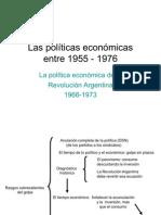 Las políticas económicas del Onganiato