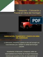Fabricacion,Transporte Colocacion