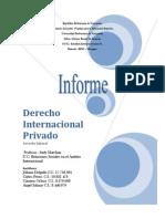 Informe de Derecho Laboralinternacional