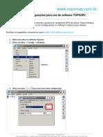 Guia 023-2011_Como Criar Configura+º+Áes no software Topsurv