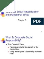 Chapter 5 CSR