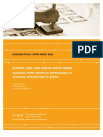 Europe, G20, and South-South Trade