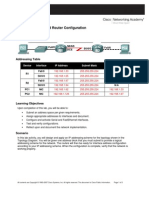 CCNA1 Lab 6.7.5 Answers