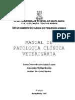 Manual de Patologia Clinica Veterinaria[1]